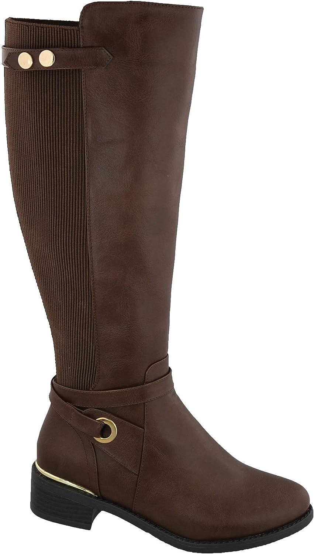 Top Moda Women's Kendall-8 Knee High Riding Boot