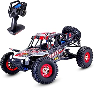 Geekper Electric RC Car, High Speed 50KM/H Remote Control Truck - 1:12 2.4GHz Radio 4WD Off Road Vehicle Toy - with 1 Rech...