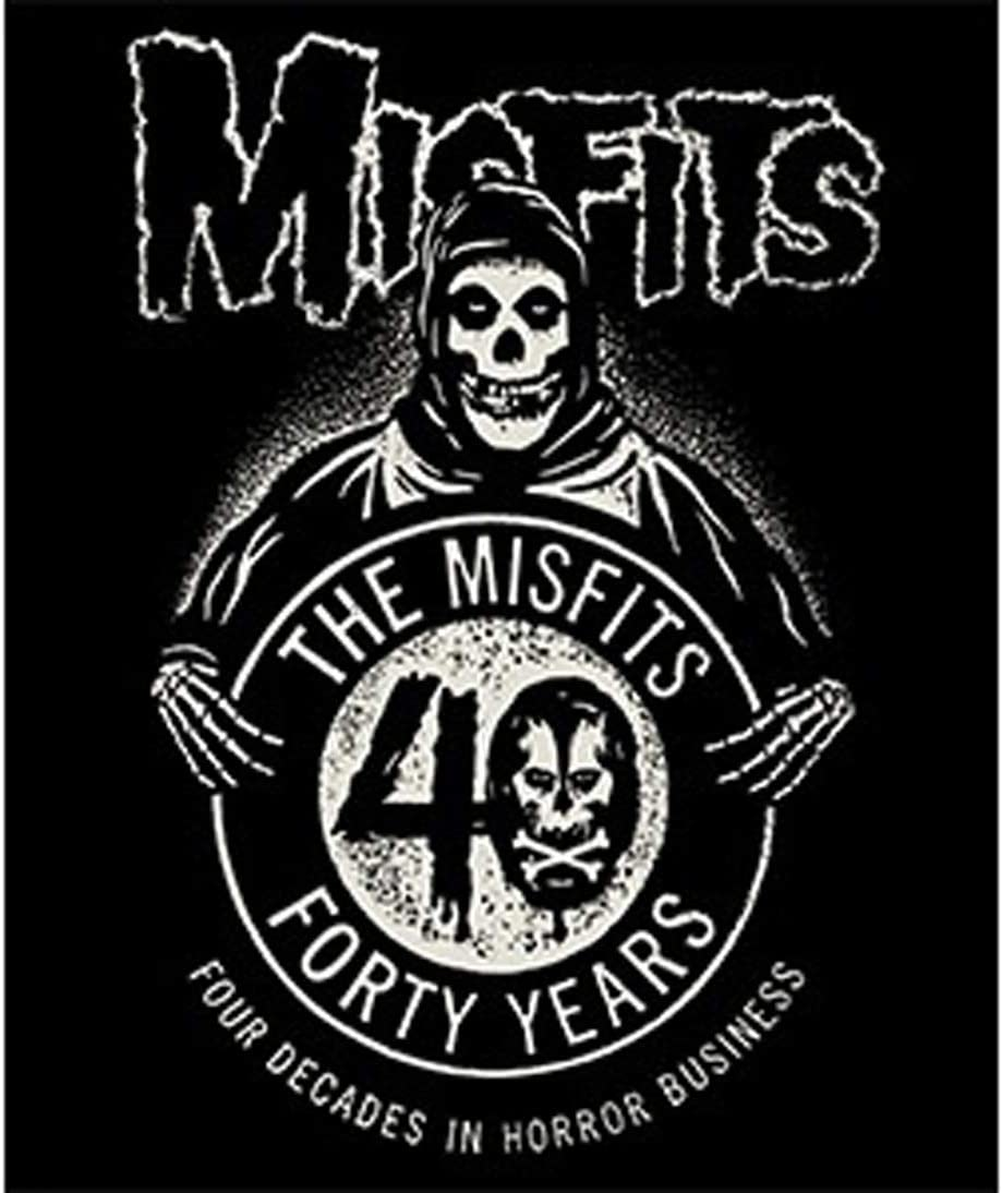 CD Visionary Misfits 40th New mail order BL-0016 latest Fleece Blanket Anniversary