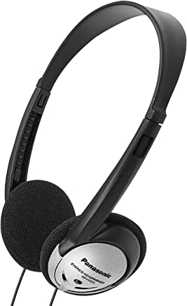 Panasonic Headphones On-Ear Lightweight with XBS RP-HT21...