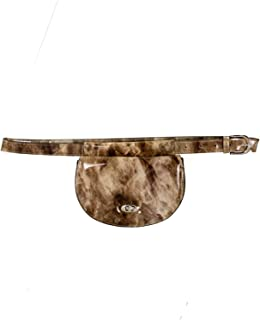 FYDELITY- LUX Ultra-Slim Line Fanny Pack Belt Bags: Luxury, High Fashion,Couture