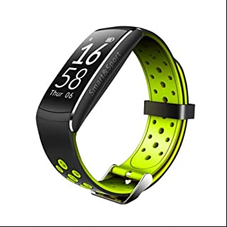 7da6f765d Pulsometro pulsera deportiva inteligente,Pulsera Actividad Bluetooth con  Contador de Pasos/Análisis de Sueño