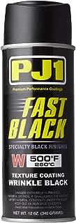 PJ1 16-WKL Wrinkle Black Spray Paint (Aerosol), 12 oz