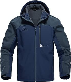 Men's Outdoor Softshell Jacket Fleece Lined Waterproof...
