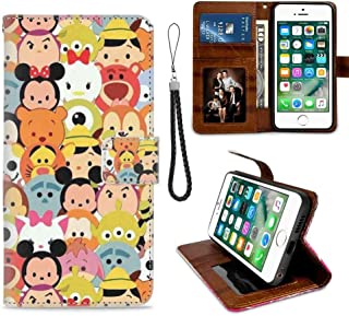 Wallet Case for Apple iPhone 6 Plus | iPhone 6s Plus Character Disney Tsum