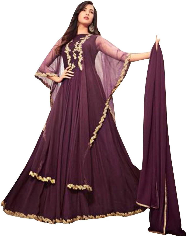 Bollywood Wedding Ceremony Long Anarkali Salwar Suit Muslim 765