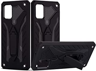 SZINTU Galaxy A71 Case(Not Compatible with A71 5G),12ft Drop d Heavy Duty Dual Layered Shockproof Rugged Cover with Kickst...