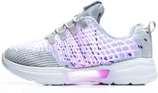Fiber Optic LED Light Up Shoes for Women Men USB Charging Fashion Sneaker