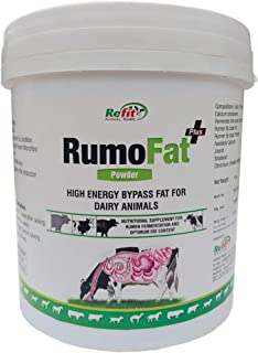 REFIT ANIMAL CARE Rumen Bypass Rumo Fat for Cattle, Cow, Buffalo and Farm Animals (5 kg)