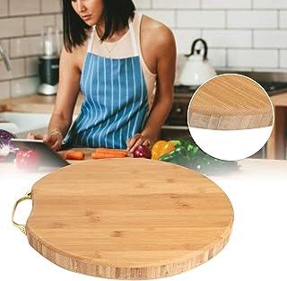 St. Lun Kitchen Cutting Board, 36x36x3cm Bamboo Kitchen Cutting Chopping Board Kitchen Accessories for Cutting Vegetable F...