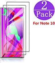 [Black][2Pack] Samsung Galaxy Note 10 Screen Protector(6.3 inch),Tempered Glass Anti-Scratch, Bubble Free and Case Friendl...