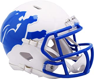 Detroit Lions Riddell Speed Mini Football Helmet - 2019 AMP Alternate