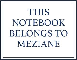 This Notebook Belongs to Meziane