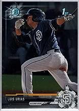 Baseball MLB 2017 Bowman Chrome Prospects #BCP107 Luis Urias Padres