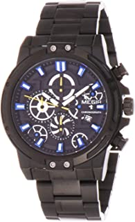 ساعة للرجال من ميجر، MS2108G-BK-1A