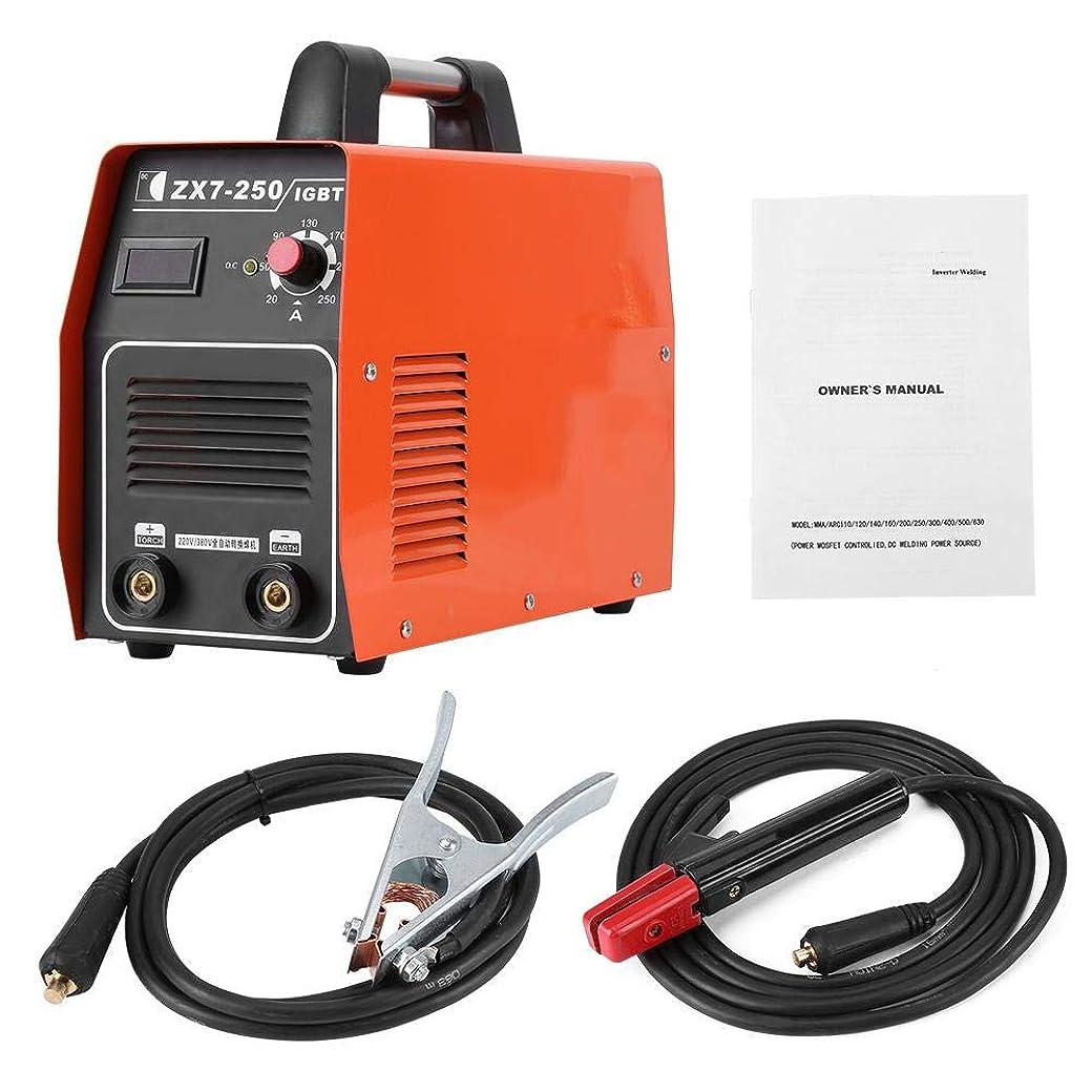 スワップできる担保デジタルインバーター直流溶接機 DCインバーター溶接機 220/380Vデュアル電圧TIGトーチアークスティック溶接機 IGBT電極 説明書付き