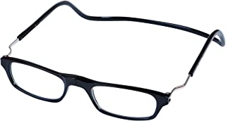 Magnetic Reading Glasses Plastic 1.5 Black