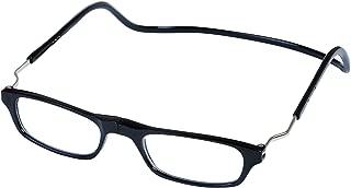 Magnetic Reading Glasses Plastic 2.0 Black