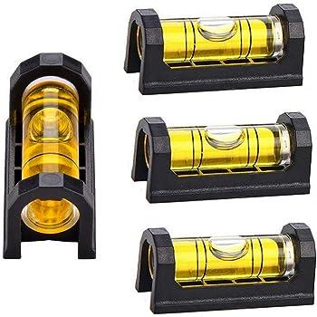 YOTOM 4X Gunsmith Level, Scope Mounting Leveling Bubble Tool with Magnetic Base