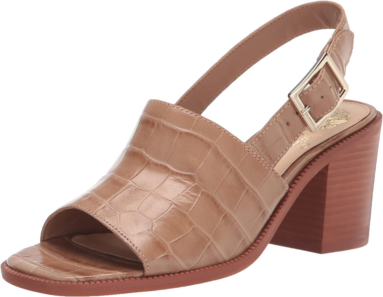 Vince Camuto Women's Brendiza Block Heel Sandal Heeled