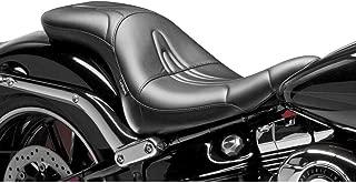 14-17 Harley FXSB2: Le Pera Sorrento Seat (Standard) (Black)
