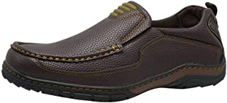 Men's Casual Slip on Penny Loafers Boat Walking Flat Summer Shoes