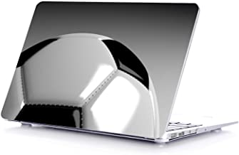 MacBook Air 13 Inch Case, Mac White Plastic Laptop Snap On Cover Compatible with Apple - Years 2010/2011/2012/2013/2014 (for Model A1466 & A1369 Only) Tree Wood (Soccer Ball)