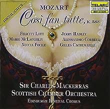 Mozart: Così fan tutte / Mackerras Highlights