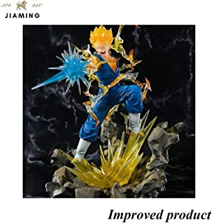Jiaming Vegeth Super Saiyan Figura Dragon Ball Z Figuarts Zero, Multicolore - 7.4 Pollici