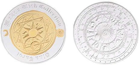 liumiKK Commemorative Coin Tarot Divination Array Storage Collection Arts Gifts Souvenir