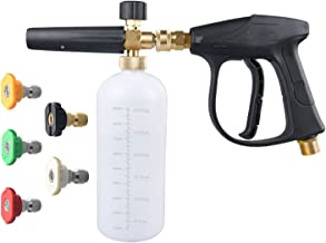 DUSICHIN DUS-018 Foam Cannon Lance Pressure Washer Nozzle Tip Spray Gun 3000 PSI Jet Wash