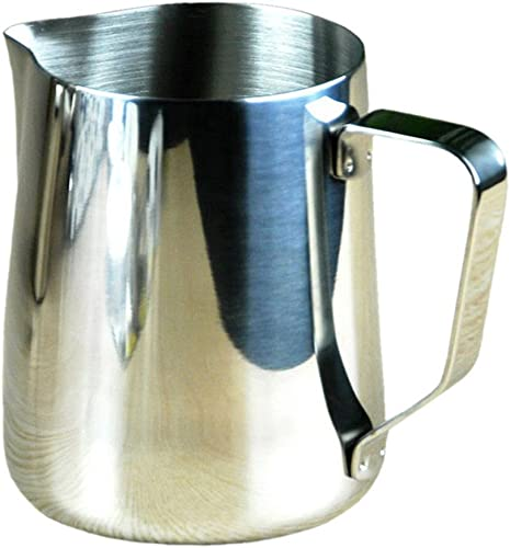 POY Tasse à Bec en Acier Inoxydable, Tasse à Lait, Tasse en Mousse Tasse à café Fantaisie, Cylindre à Fleurs Bouteille à Lait Bouteille d'eau,Bouteille