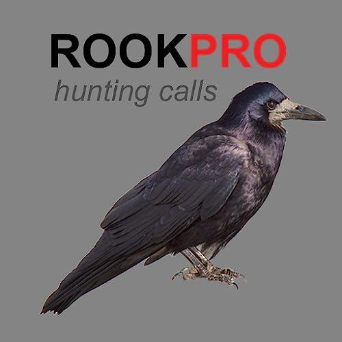 REAL Rook Hunting Calls - 10 REAL Rook CALLS & Rook Sounds! - ROOK e-Caller - BLUETOOTH COMPATIBLE