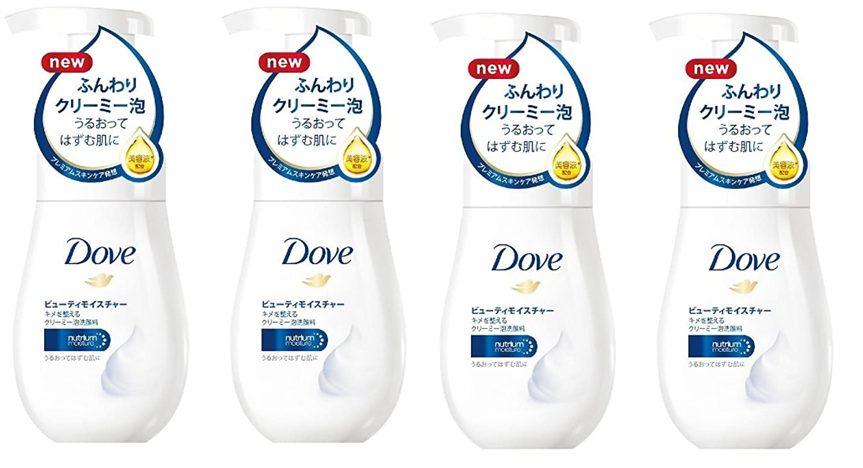 ファシズムヒロイック金額【まとめ買い】Dove ダヴ ビューティモイスチャー クリーミー 泡 洗顔料 160ml ×4個