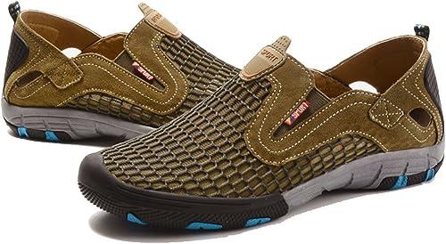 GAOLIXIA Hommes Sport Chaussures Casual Running Chaussures de Sport Athlétique Gym Chaussures Slip-On Athletic baskets de Compétition Léger