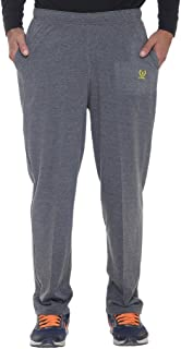 VIMAL JONNEY Men's Metallic Grey Trackpants