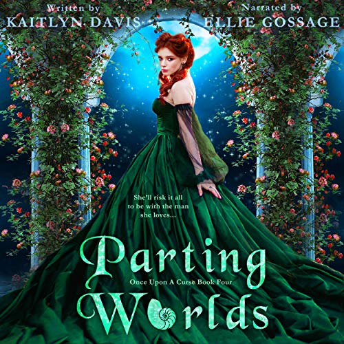 Parting Worlds - A Little Mermaid Retelling Audiobook By Kaitlyn Davis cover art