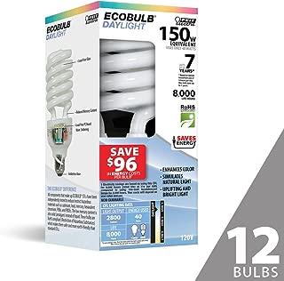 Feit ESL40TN/D 150W Equivalent CFL Twist Daylight Bulb (Pack of 12)