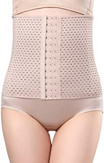 Comfortable/high-quality girdle Women Seamless Bodysuit Shaper Firm Tummy Control Shapewear Slim Full Body Shaping Open Flat Belly Bust Waist Trainer Corset (Color : Flesh, Size : 4XL)