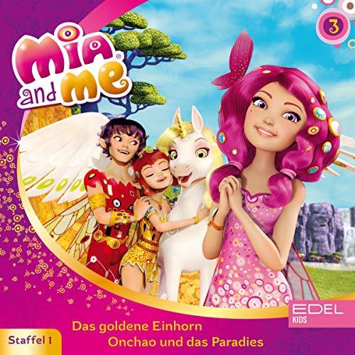 Das goldene Einhorn / Onchao und das Paradies. Das Original-Hörspiel zur TV-Serie Titelbild