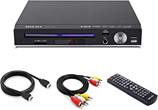 DVD Player-Digital DVD Player for TV Support 1080P Full HD Come with HDMI Cable Remote Control and Built-in PAL/NTSC Syste...