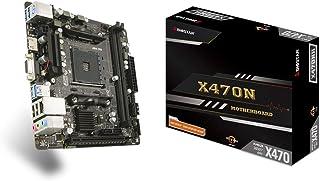 Biostar MB X470NH - Ordenador de sobremesa (X470,AM4,mITX,DDR4,VGA,AMD, AMD Sockel AM4 (Ryzen)
