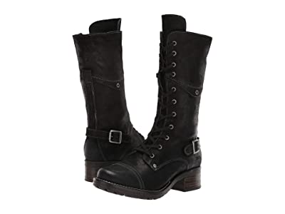 Taos Footwear Tall Crave (Black Rugged) Women