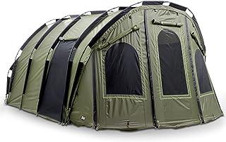 Lucx® Bigfoot Bivvy 4 till 6 personer fisketält karp tält 2 3 4 5 6 man fisketält carp kupol fiske Tent