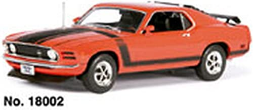 Welly WE1307 Ford Mustang Boss 1970 rouge 1 18 MODELLINO Die CAST Model Compatible avec