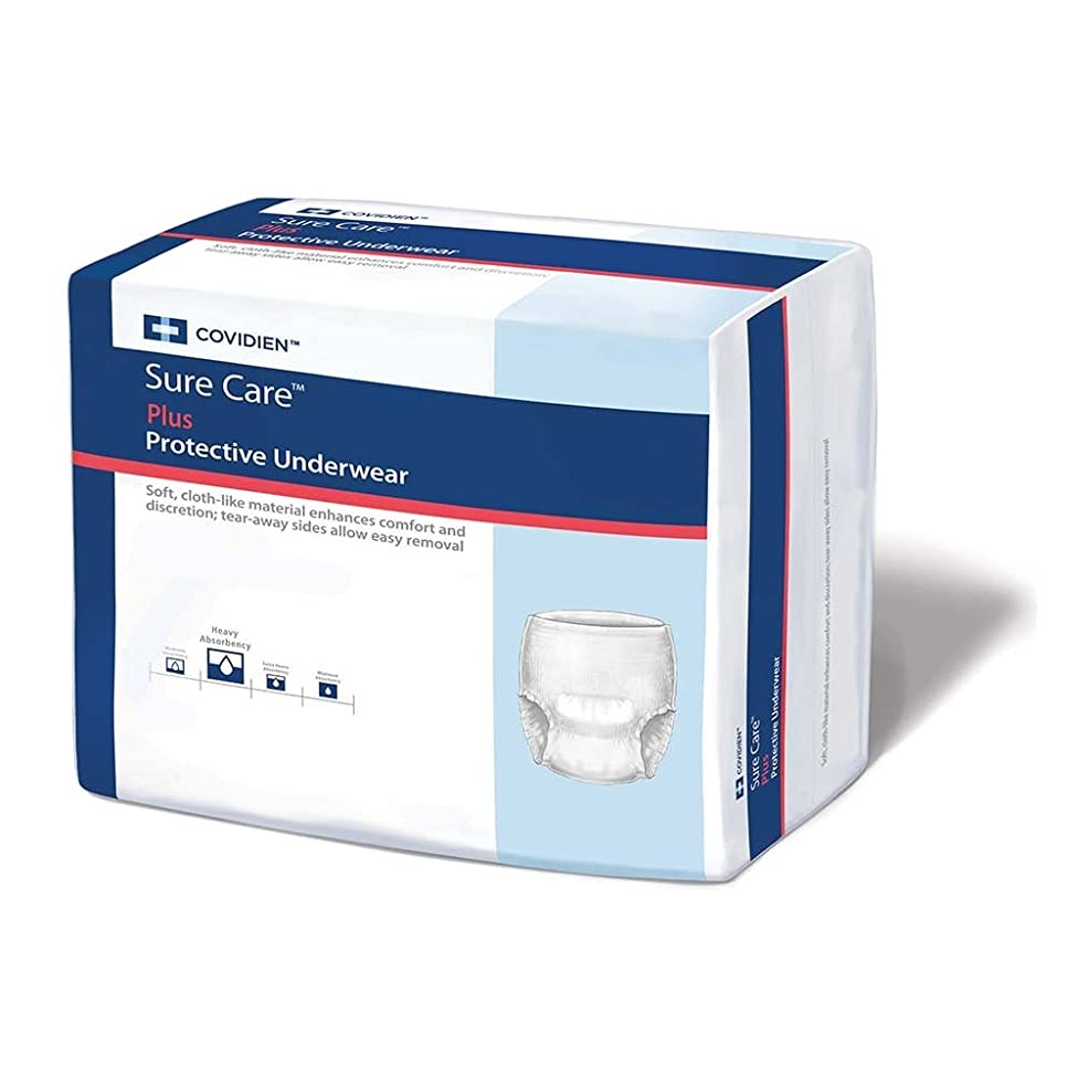 SureCare Protective Underwear EXTRA Absorbency Size XL Case/56 (4 bags of 14)
