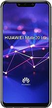 Huawei Mate 20 Lite Smartphone débloqué 4G (6,3 pouces - 64 Go/4 Go - Double Nano-SIM ou Nano-SIM + carte Micro-SD - Android) Noir [Version européenne]