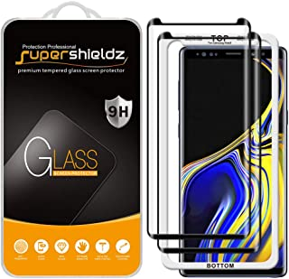 (2 Pack) Supershieldz Designed for Samsung Galaxy Note 9 Tempered Glass Screen Protector with (Easy Installation Tray) Ant...
