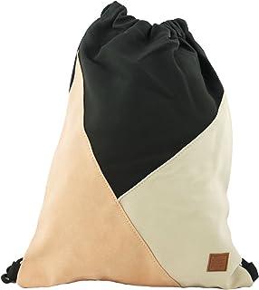 Gym Bag Style apricot in coolem Patchwork-Design Sport-, Turnbeutel, Rucksack, Daypack