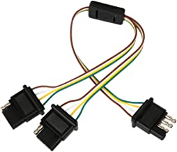 Best dual 4-wire flat adapter Reviews